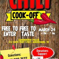 Murfreesboro Chili Cook-Off